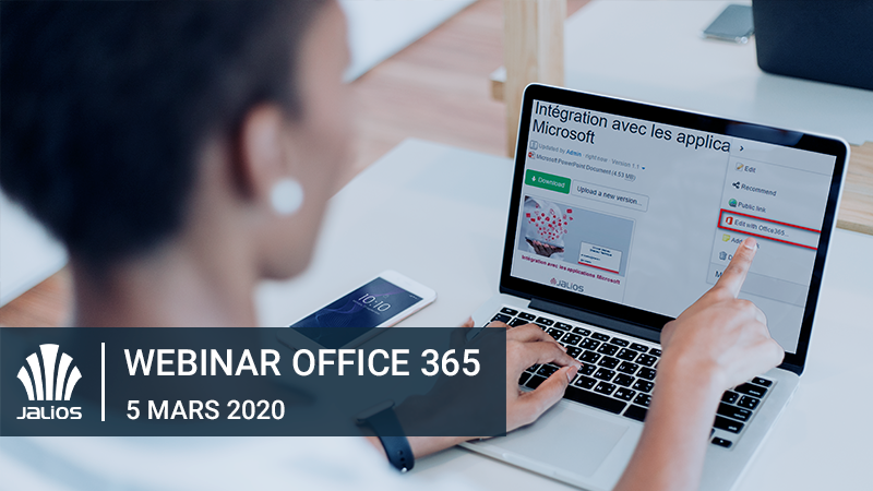 Webinar - Successful Digital Workplace for Office 365 with Jalios